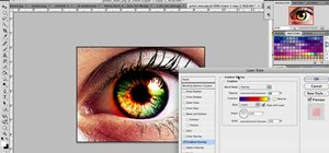Make cool green eyes in Photoshop
