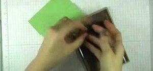 Make an album greeting card