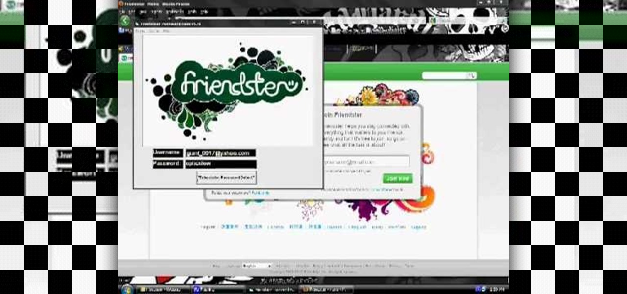 How to Hack a Friendster account password