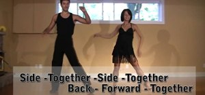 Master the basic steps in the Cha Cha Cha