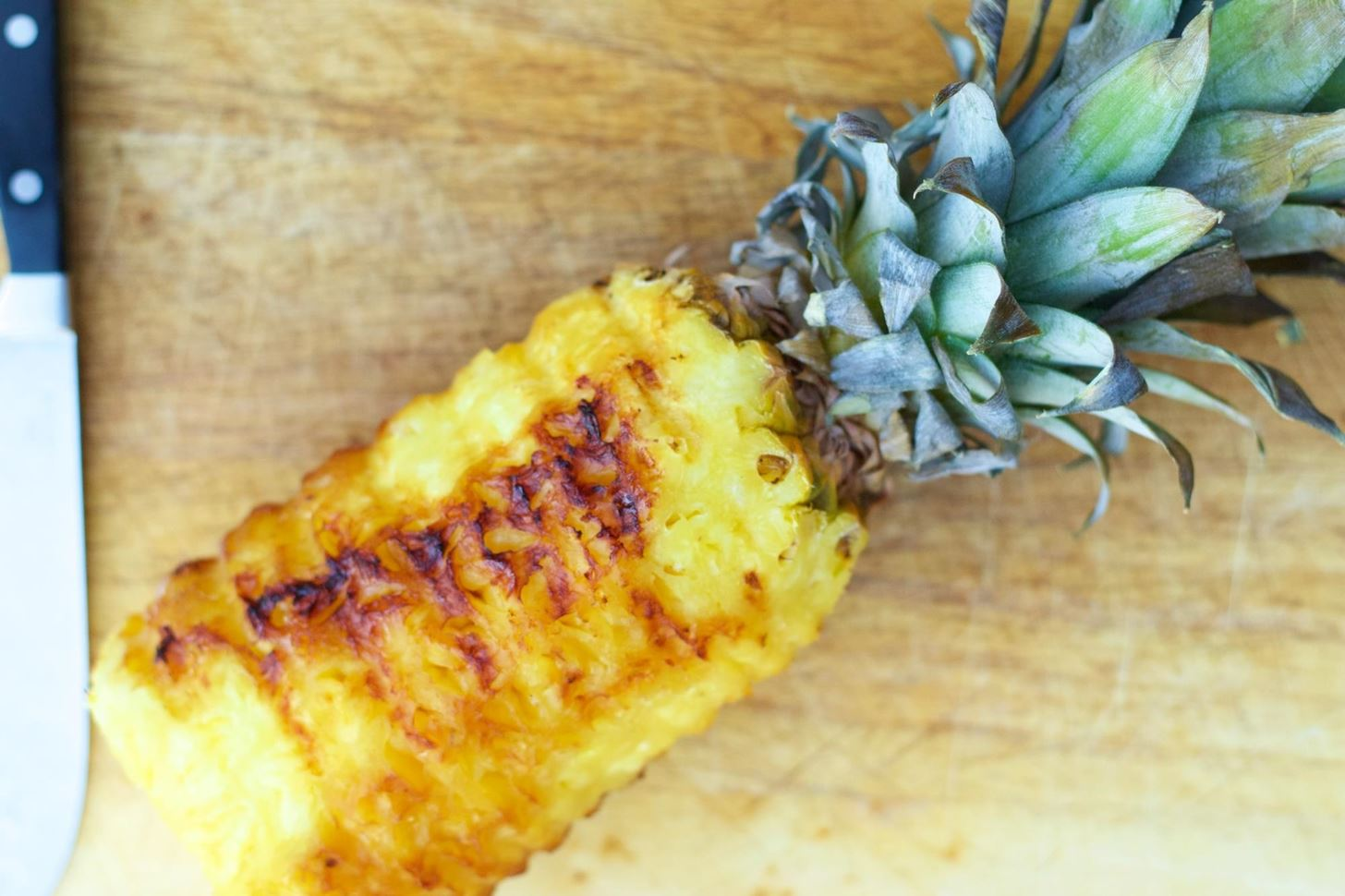 Grill a Whole Pineapple for Dessert, Cocktails, Burgers & More