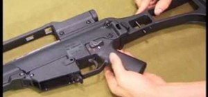 Operate, disassemble and clean an HK G36 assault rifle