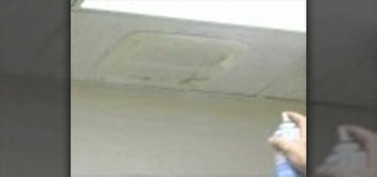 How To Re Water Stained Ceiling Tiles Construction Repair Wonderhowto