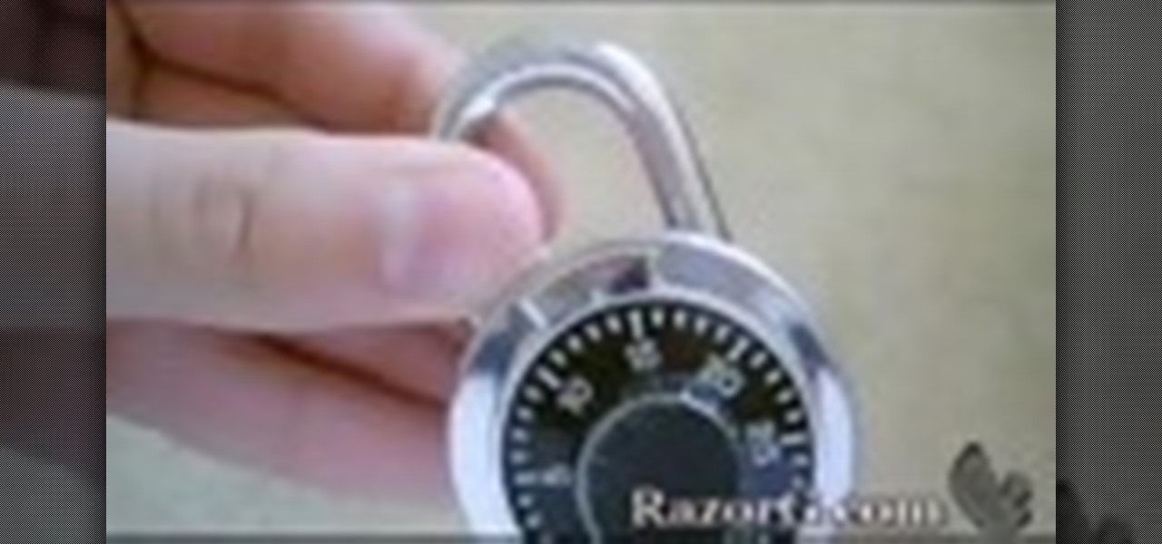 How To Hack A Lock With Soda Can Shim
