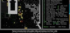 Defend vs. a goblin ambush and use graveyards and coffins in Dwarf Fortress