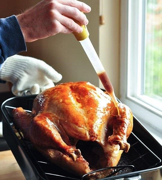 How to Cook a Moist & Delicious Thanksgiving Turkey Without a Baster