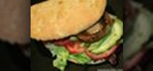 Make vegan mushroom burger