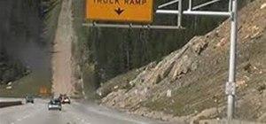 Runnaway truck ramp