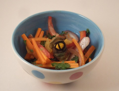No Lightsaber Required: DIY Jar Jar Binks Salad