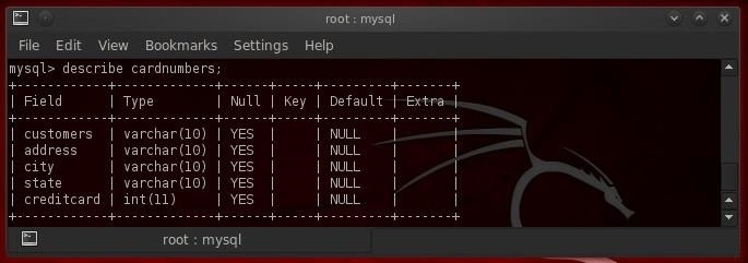 Hack Like a Pro: Linux Basics for the Aspiring Hacker, Part 14 (MySQL)