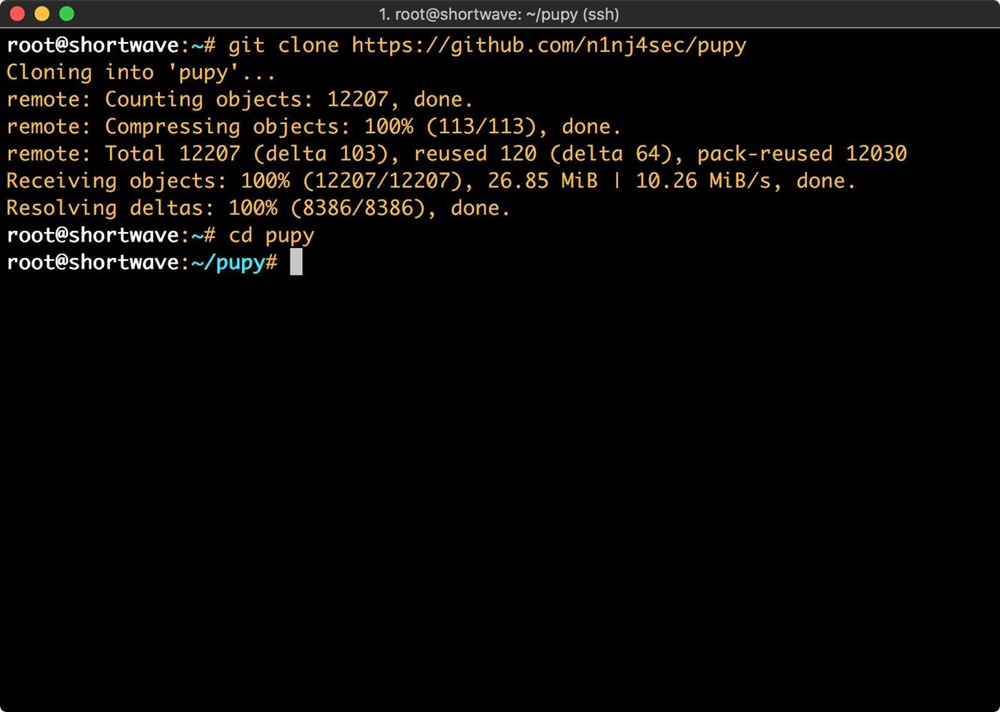 How to Use Pupy, a Linux Remote Access Tool « Null Byte :: WonderHowTo