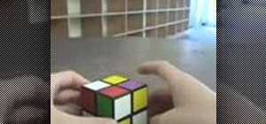 Solve a 2x2 Rubik's Cube using only two algorithms