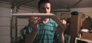 Make a double-barrel sawed-off shotgun prop
