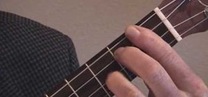 "Play ""As Time Goes By"" by George Gershwin on the ukulele"