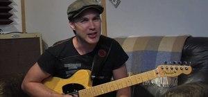 Play arpeggios on the guitar as a beginner