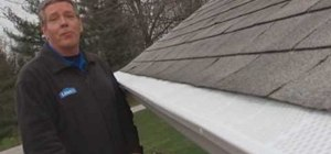 Install gutter screens with Lowe's