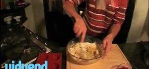 Bake raspberry muffins
