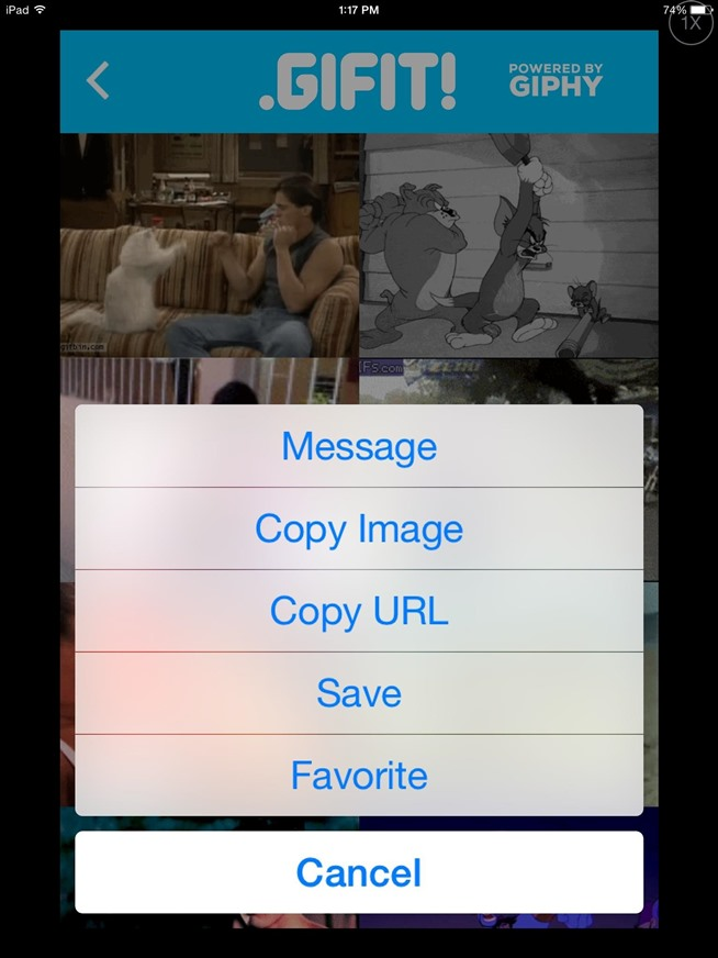 The Fastest, Easiest Way to Find & Share GIFs on Your iPad or iPhone