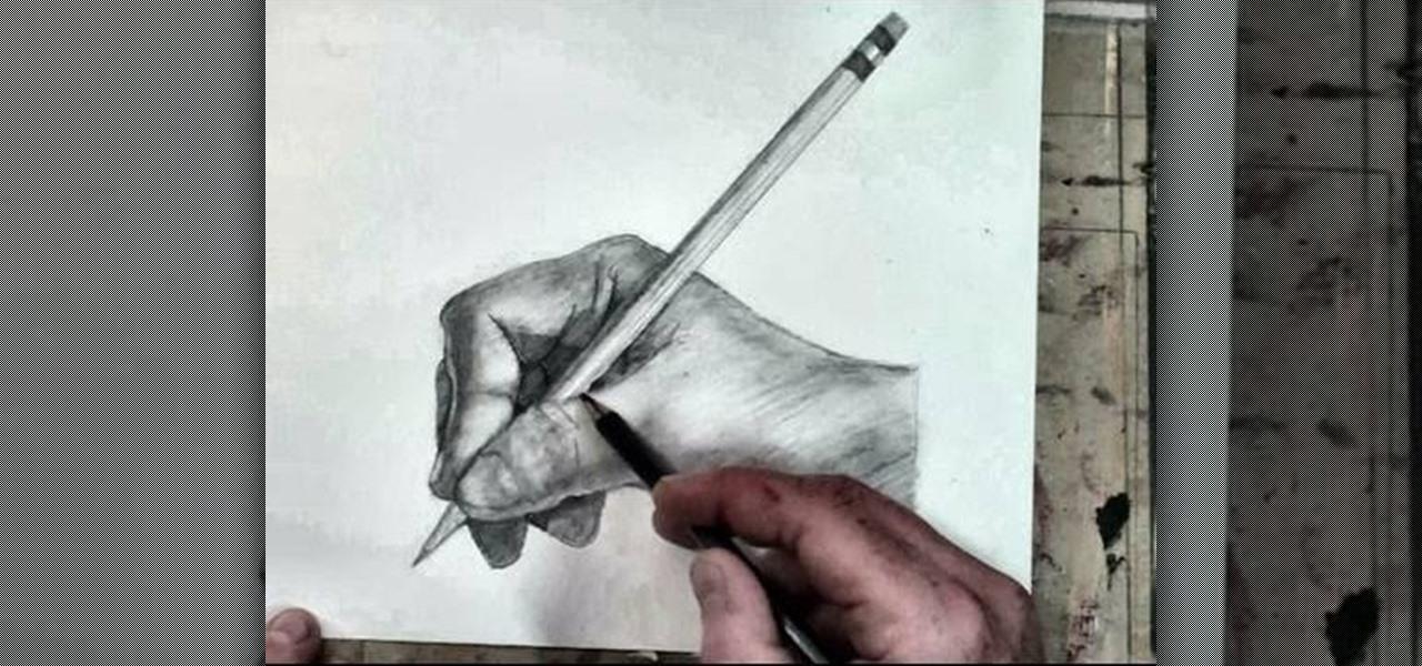 Рисовать своими руками только карандашом видео