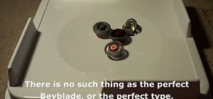 Use the four types of Beyblades effectively in the game