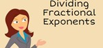 How to Divide Rational Exponents.