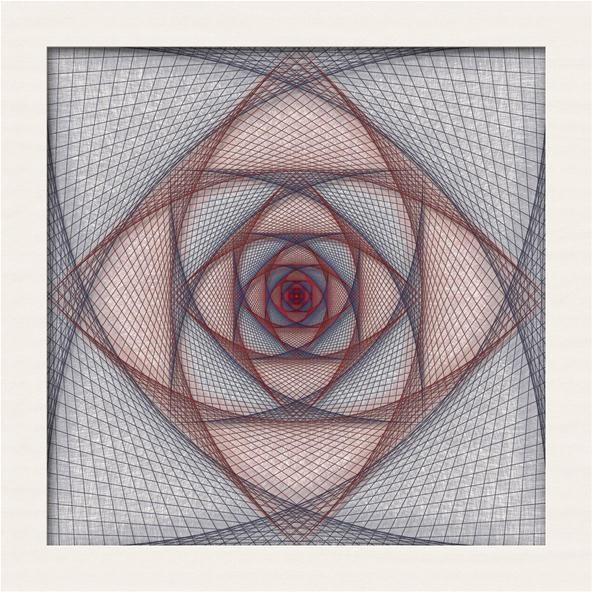 Straight Line String Art : More string art « math craft