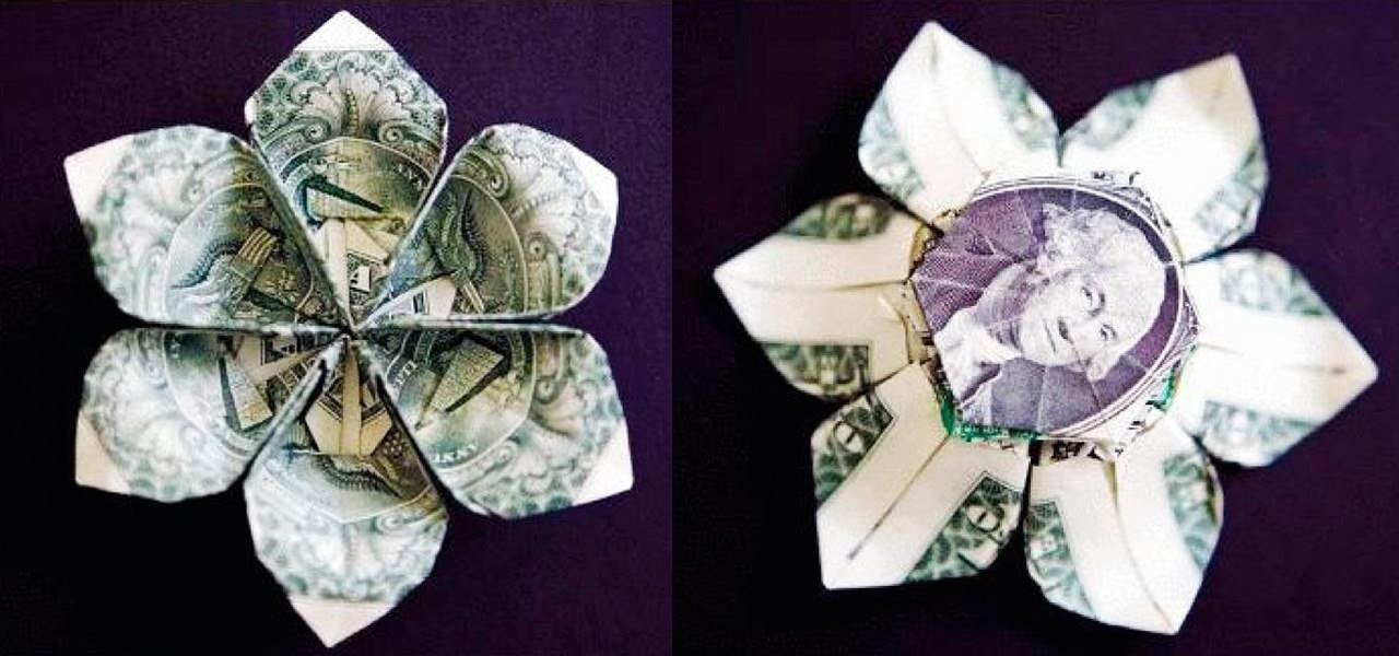 10 Different Ways To Fold A Dollar Bill Into Blossoming Bloom