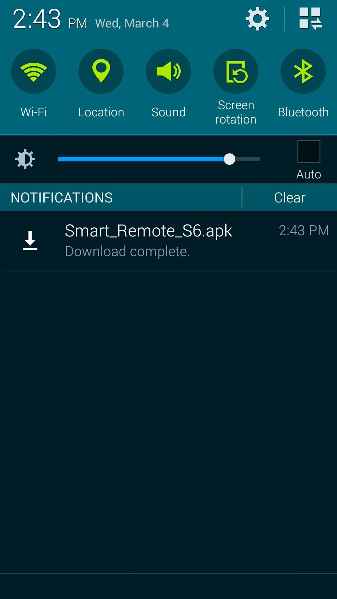 Get the New 'Smart Remote' App from the Samsung Galaxy S6 on Any Galaxy Device
