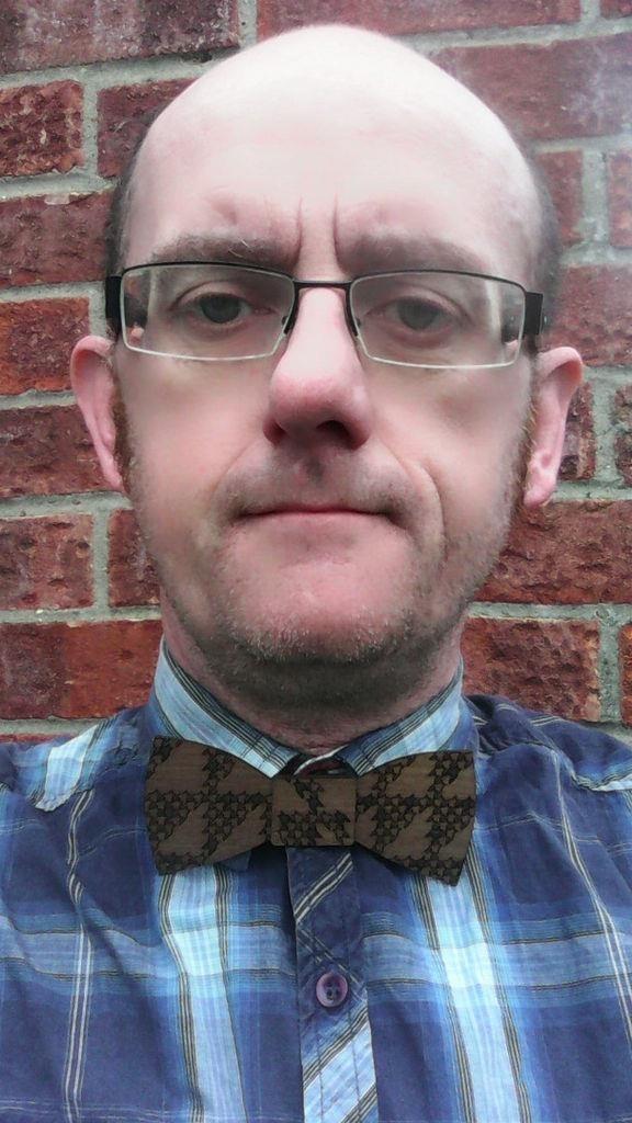 Laser Cut Wooden Bow Tie