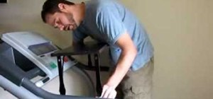 Build a treadmill desk