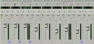 Organize your drum tracks in Pro Tools