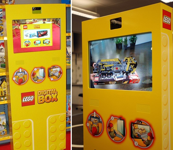 Lego's Digital Box via NOTCOT