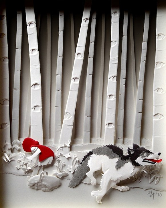 Painstakingly Crafted 3d Paper Art 171 Papercraft
