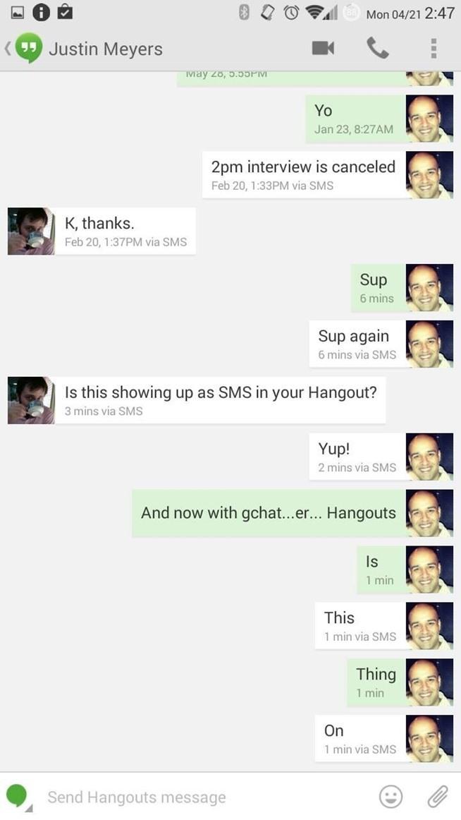Home Screen Messages Home Screen Widget