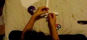 Make a paper pistol & paper dart