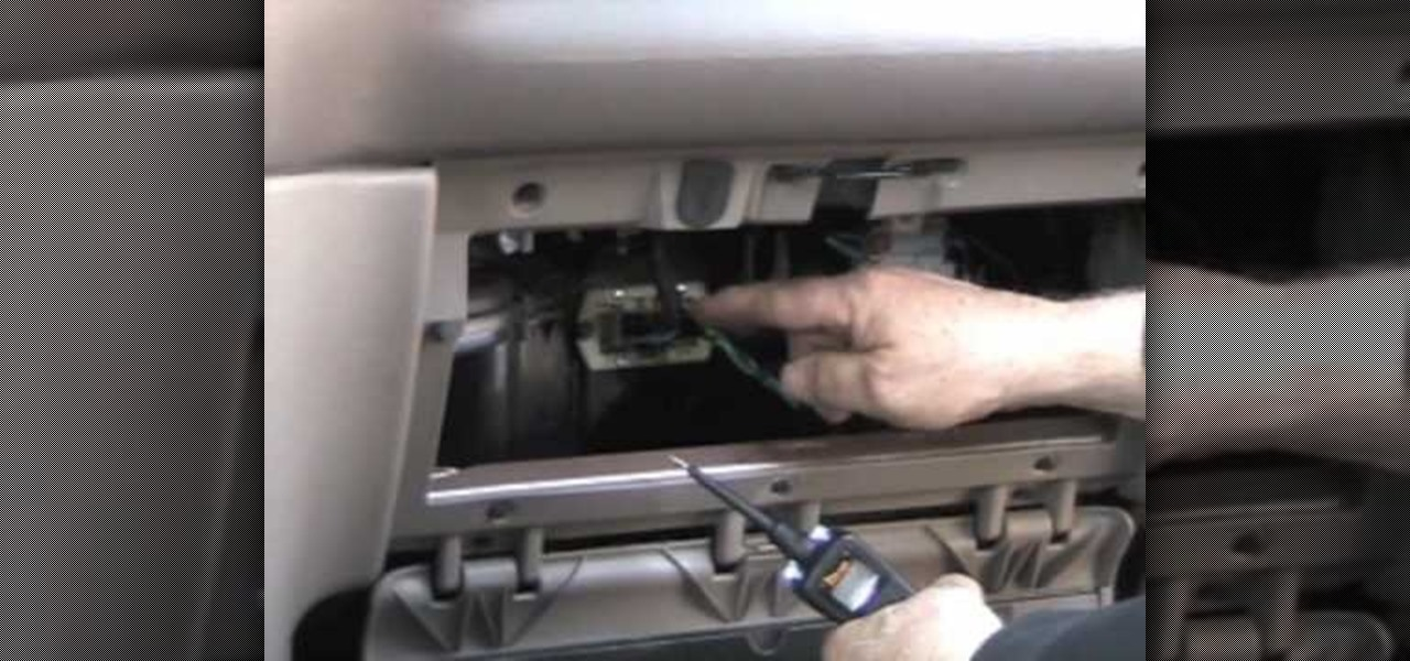 Find Test And Replace Blower Resistor Chrysler X on Dodge Dakota Heater Resistor Problem
