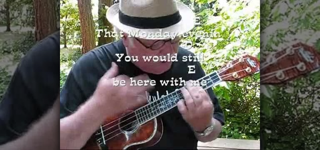 How To Play Monday Monday By The Mamas The Papas On The Ukulele