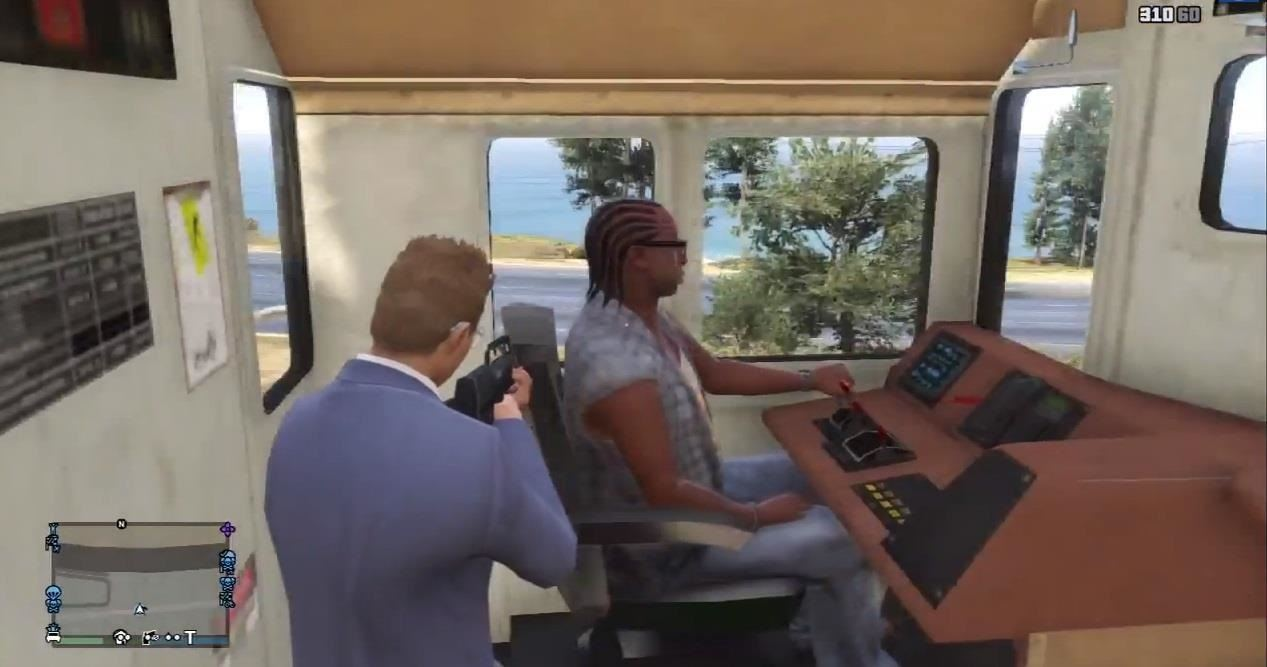 How to Get into a Train's Cockpit on GTA 5 Online for a Different View of Los Santos