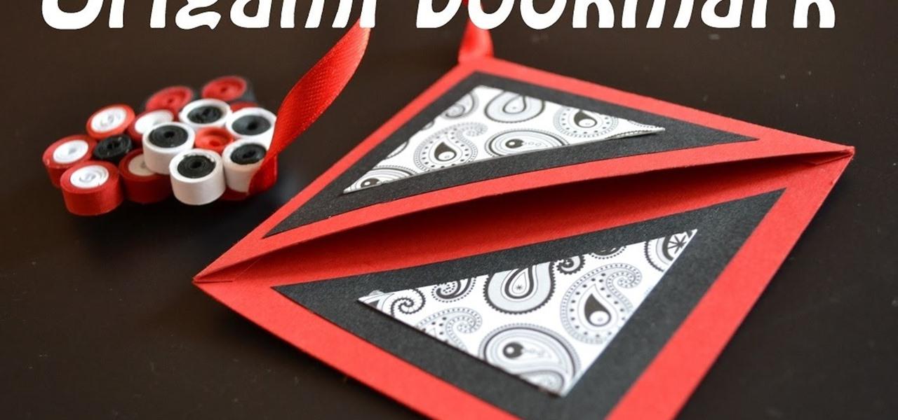 Make an Origami Bookmark