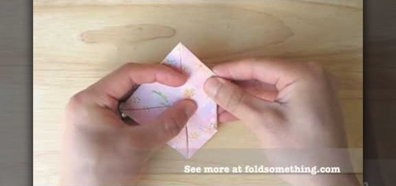 How To Make An Origami Lotus With 8 Petals Origami Wonderhowto