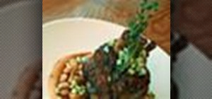 Make braised pork shank and beans