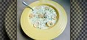 Cook a homestyle clam chowder with quahogs or large cherrystones