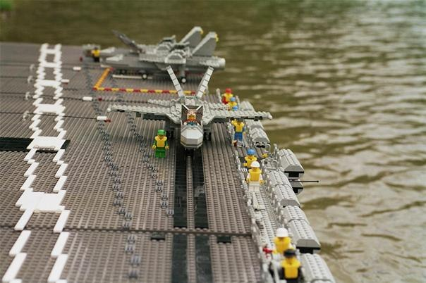 how to make a mini lego air carier ship