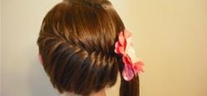Make A Side Swept French Fish Braid Hairstyle