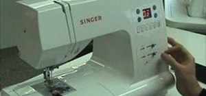 Use a computerized sewing machine