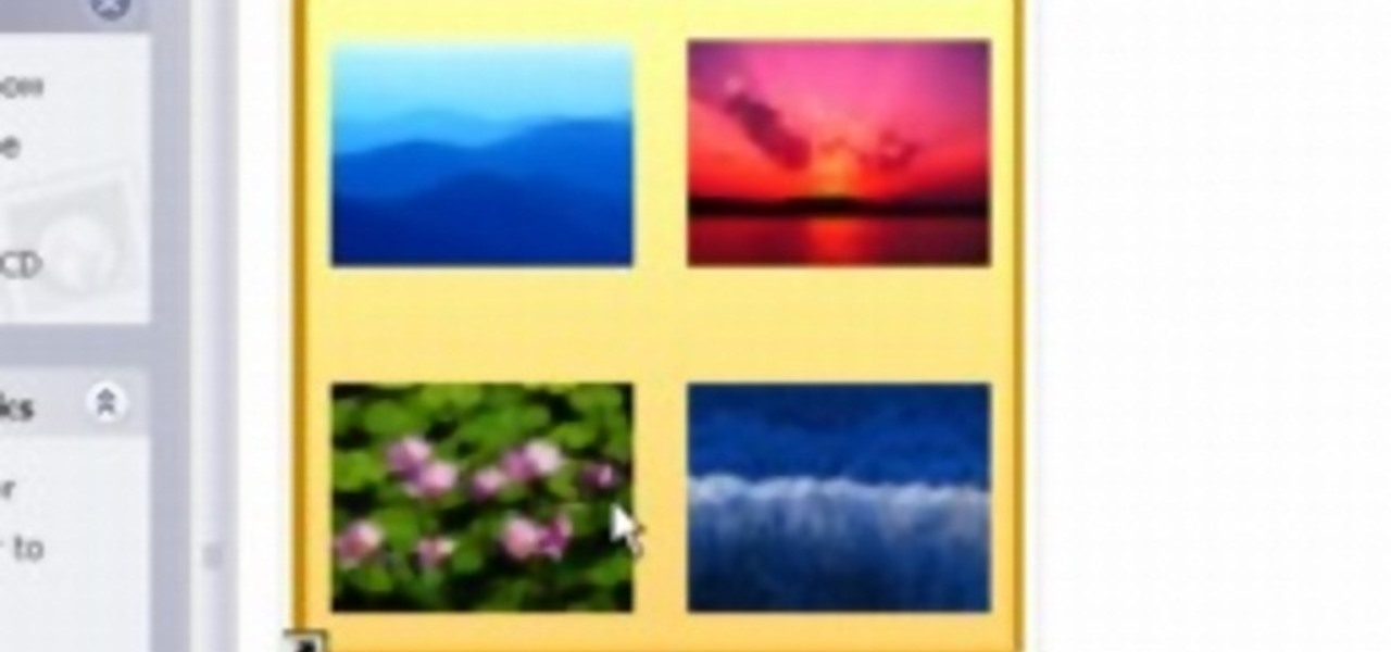 How to resize thumbnails in windows xp operating systems for Window resize