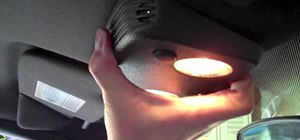 Install Mustang LED dome lights
