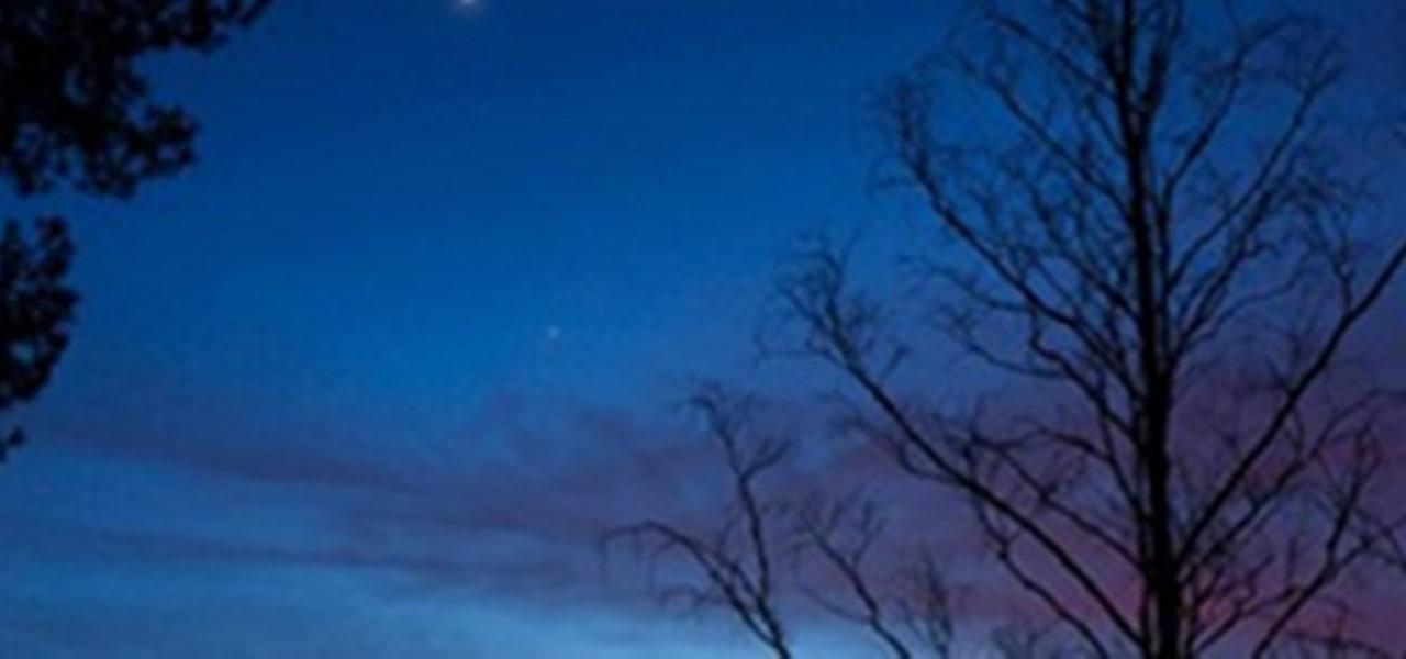 Jupiter, Saturn and Moon conjunction « Astronomy :: WonderHowTo