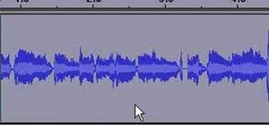 Use Audacity to record audio