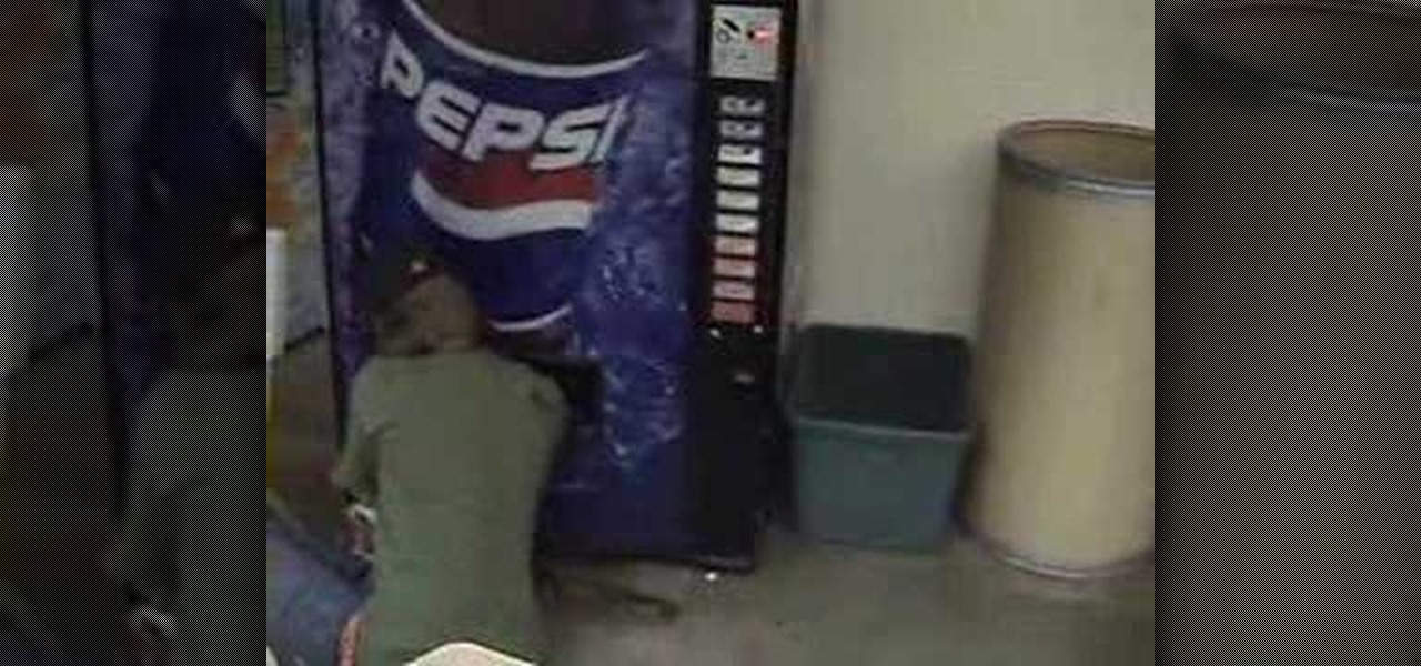 how to get free soda out of a pepsi machine